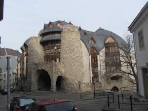 Un interessante edificio a Budapest